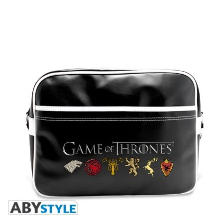 GAME OF THRONES Sac Besace Game of Thrones Sigles Vinyle
