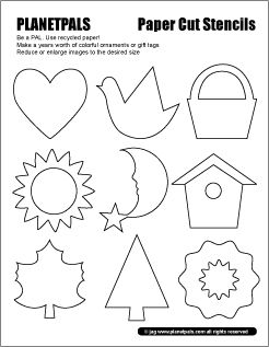 Exclusive Stencils for Recycle Crafts