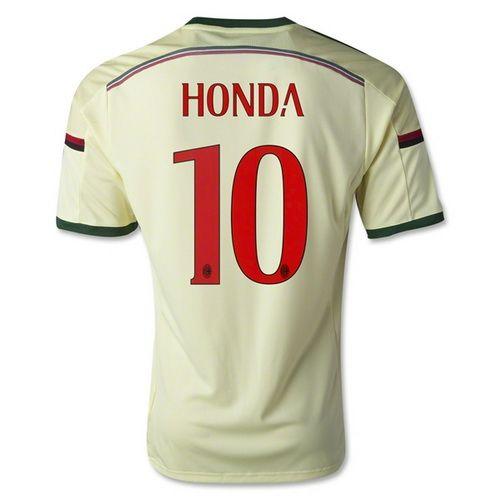 camiseta de Honda 3rd AC Milan 2015 tienda