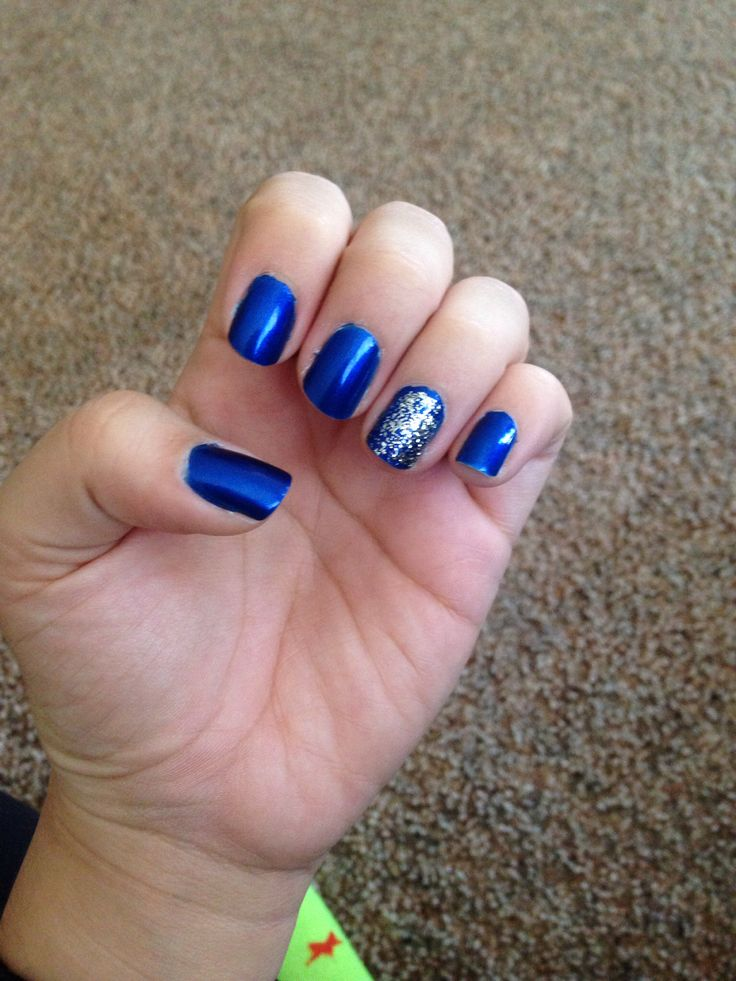 Blue Nail Polish Manicure Designs: 17 Best Images About Prom Nails