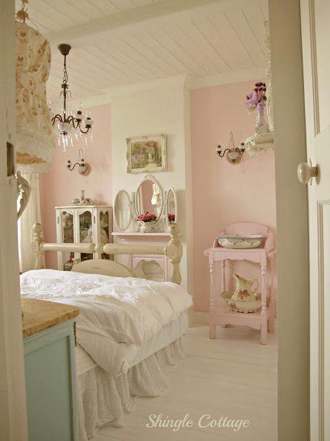 Shingle Cottage Pastel Bedroomshabby Bedroomcottage Bedroomscozy Bedroomtrendy Bedroompink Vintage