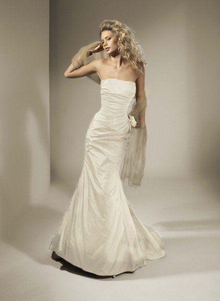 Garamaj Designer Silk Dress modified 'Consuella' gown