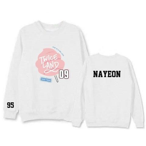 TWICE Twiceland Nayeon 95 One in a million Cool Hot Fashion Sweatshirt #TWICE #Twiceland #Nayeon #Oneinamillion #Cool #Hot #Fashion #Sweatshirt #KIDOLSTUFF #KPOP
