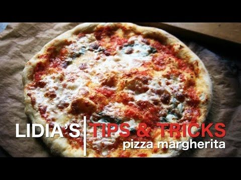 Pizza Margherita Recipe {Lidia is one of the Chefs that I have followed for  years! I love the way she shares the love of food and family.. Disabledironchef mjb}