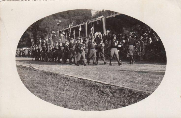 Foto Militare Atina Saggio di Ginnastica O.N.B. 1933