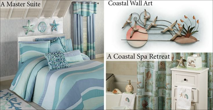 coastal inspired decor | Coastal Style Decorating and Coastal Home Decorating Tips