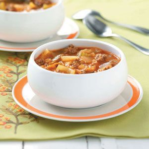 Cabbage Soup Recipe | Taste of Home Recipes