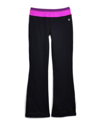 Girls Knit Yoga Pant