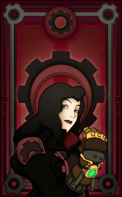 Asami Sato by ~Nortiker on deviantART  People said I looked like her (when my hair was longer) aww shucks guys