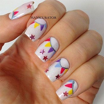 9 best birthday nails images on pinterest nail designs pretty easy birthday nails designs ideas 2014 2 easy birthday nails designs ideas 2014 urmus Images