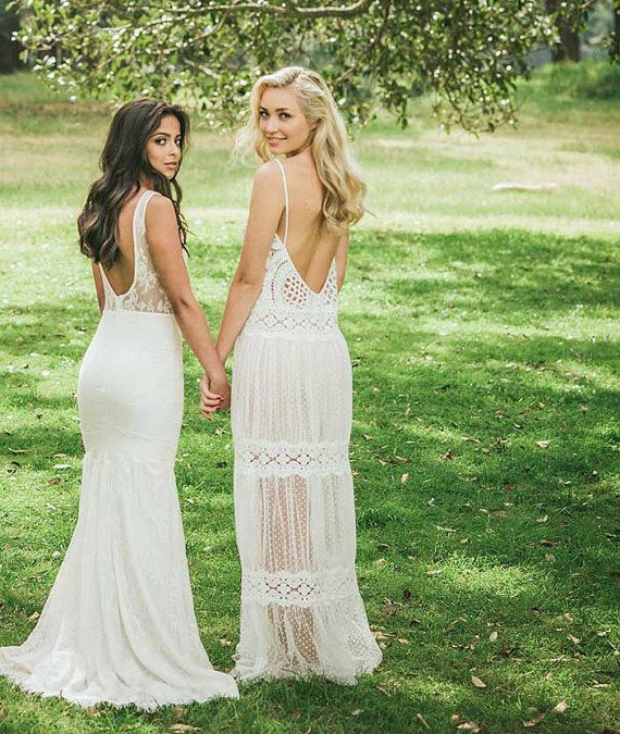 240 Best Backless Bridal Gowns Images On Pinterest