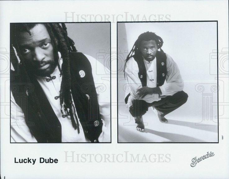 1997 Press Photo Lucky Dube
