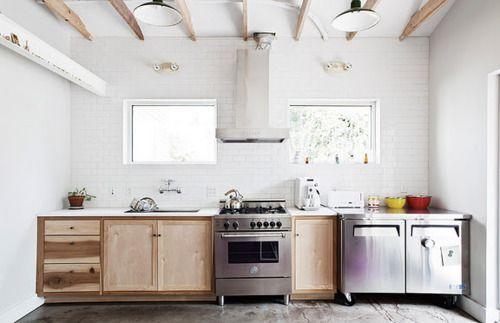 kitchen: Interior Design, Kitchens, White Kitchen, Inspiration, Wood, Interiors, Kitchen Ideas, Space