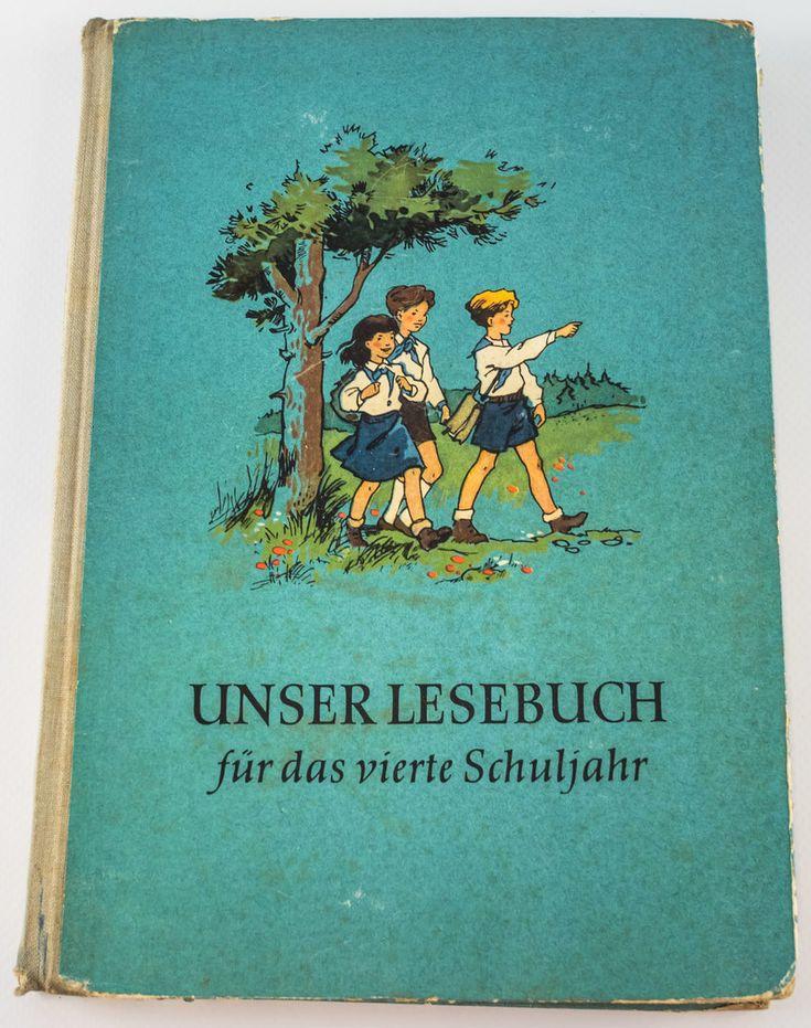 """DDR Museum - Museum: Objektdatenbank - """"Unser Lesebuch"""" Copyright: DDR Museum, Berlin. Eine kommerzielle Nutzung des Bildes ist nicht erlaubt, but feel free to repin it!"""