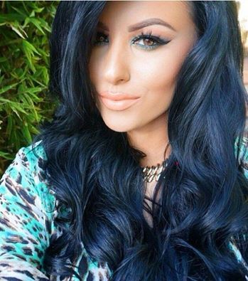 15 best images about vibrant hair color trends on