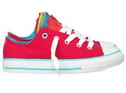 Roze Converse kinderschoenen All Star Slip Party gympen