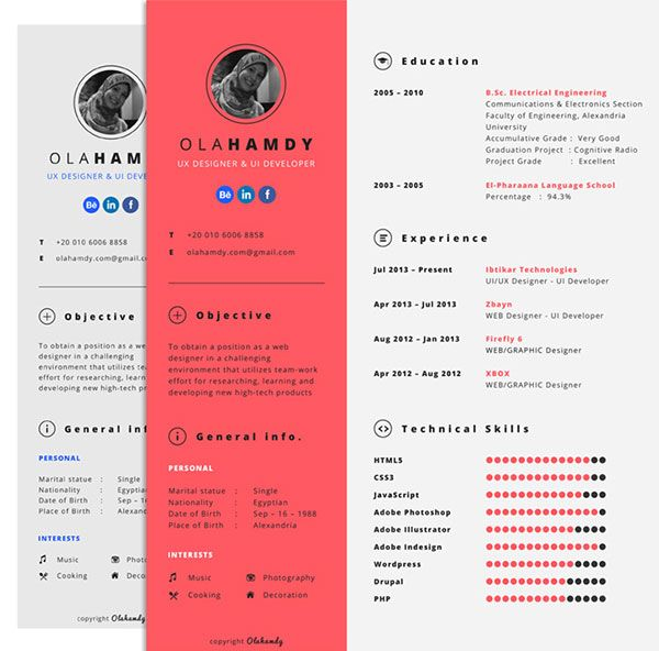 40 best Resume Ai images on Pinterest Resume templates, Design - free beautiful resume templates