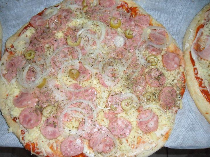 Pizza Siciliana no dia 16/08/2011