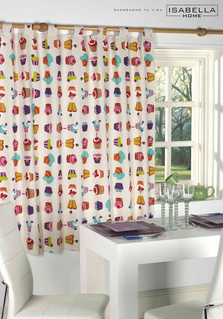 Modelo magdalenas cortinas de cocina pinterest - Modelos de cortinas para cocina ...