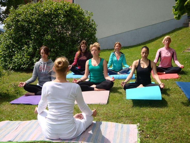 Yoga retreat in the Julian Alps, Slovenia