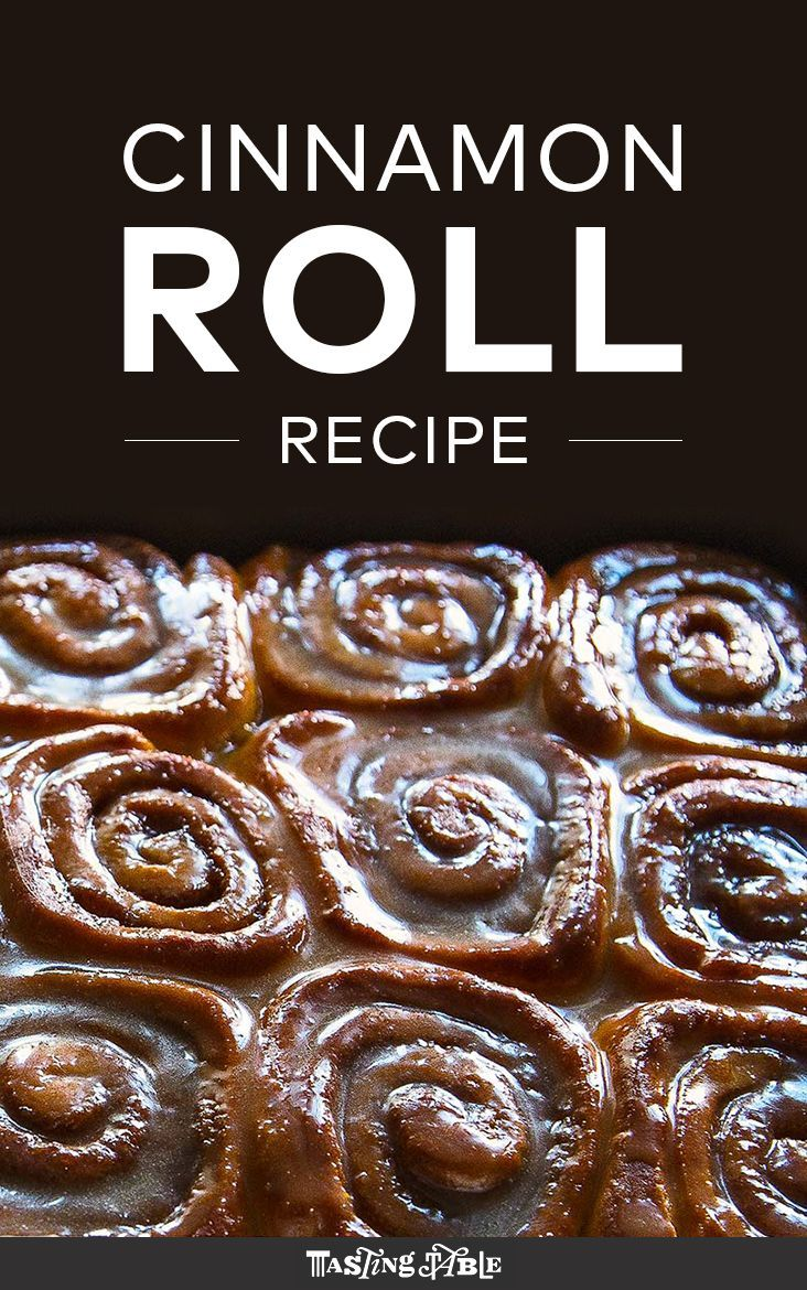 Wrapped in cinnamon and brown sugar then topped with a buttery glaze, this is the only cinnamon roll recipe you will ever need. Get the recipe at Tasting Table.