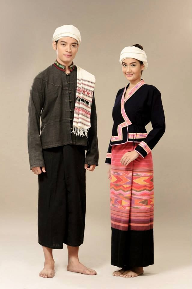 Thai Traditional Clothing & Costume - Dress for Man and Women