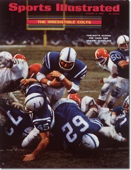 Sports Magazine Covers: Tom Matte