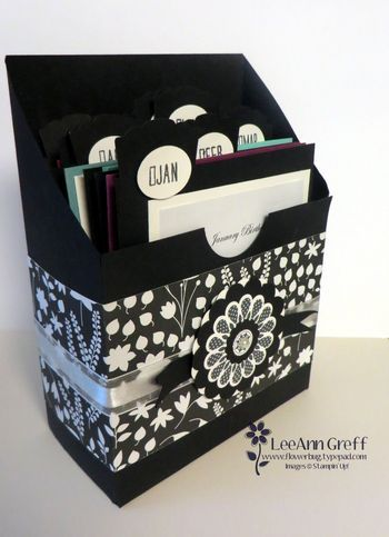 4 Pack of Gifts Tutorial is ready! Birthday or Events Card Keeper box.