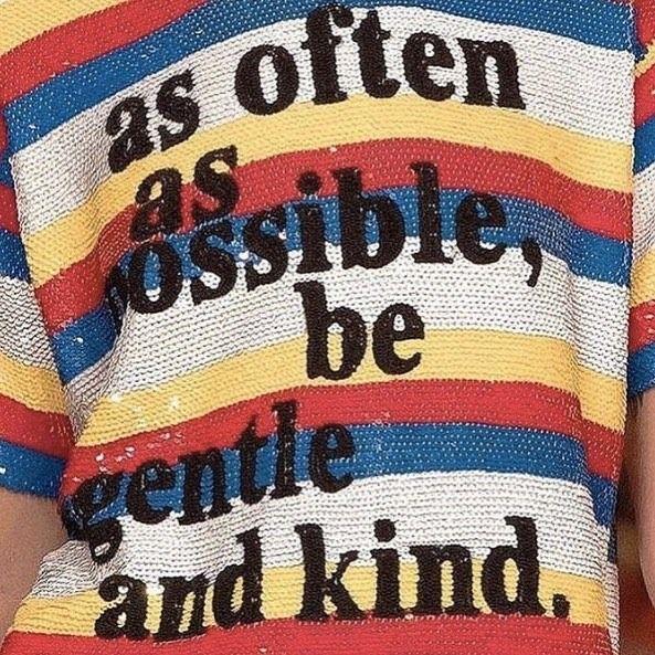 Sequins so wise #FromTheMRSharedFolder via @voice.magazine