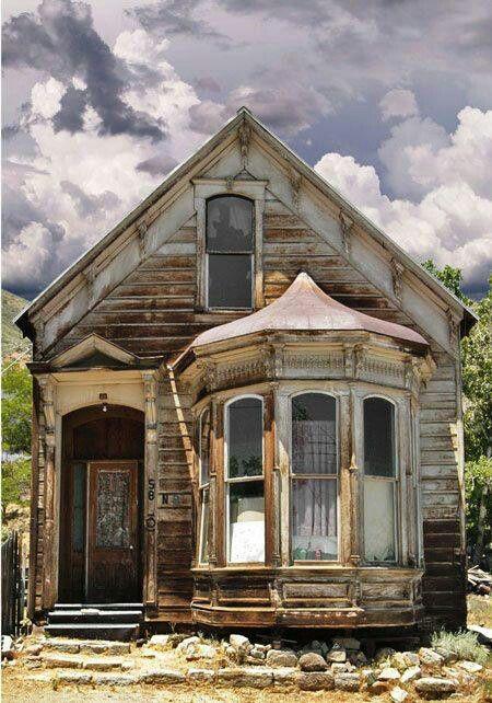 Historical abandoned house