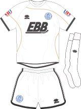 Aldershot Town FC Football Kits 2011-2013 Away Kit