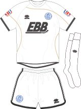 Aldershot Town FC Football Kits 2011-2013 Away Kit