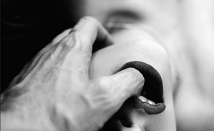 tenderness , passion,sex,lips,BW