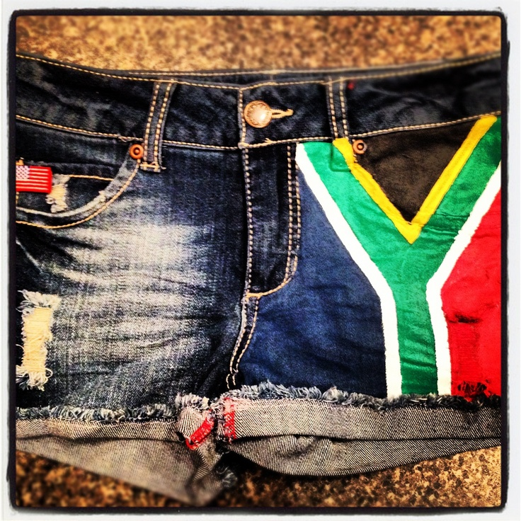 Wearing South Africa loud and proud! #picknpay #proudlysouthafrican