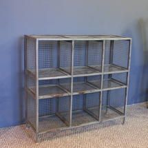 School sport changing room footwear mesh shelving - ATFUVF440