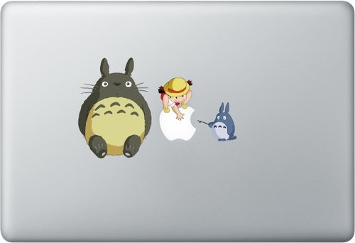 Shoply.com -Macbook totoro decal sticker. Only $9.90