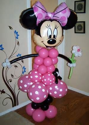 Image detail for -Minnie Mouse Cake or Centerpiece Toppers (set of 4) Two sided Zebra ...