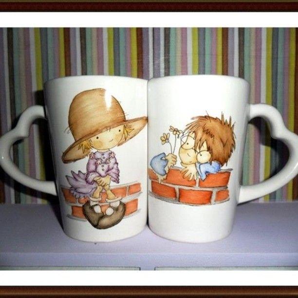 #lave #enamorados #cerámica #pintando #arte 💘 San  Valentín 💘