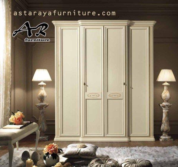 Lemari Pakaian Minimalis Duco Furniture 4 Pintu