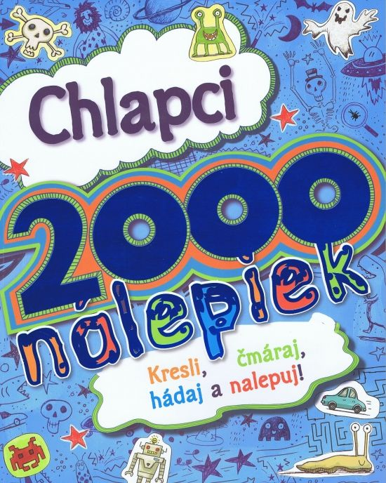 Paperback: Chlapci - 2000 nálepiek (autor neuvedený) | bux.sk