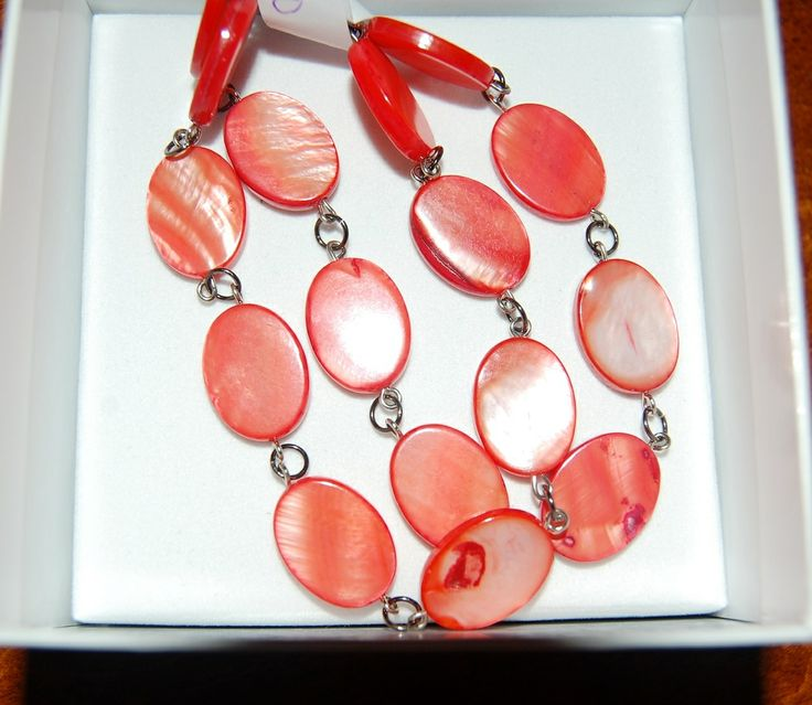 Jewelled Designs - oval red bone bead bracelet - double strand, $20.00 (http://www.jewelleddesigns.com/oval-red-bone-bead-bracelet-double-strand/)