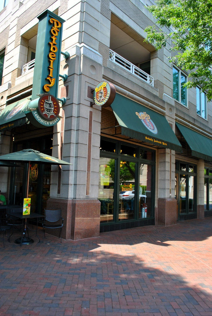 Potbelly Sandwich Works On Freedom Drive In Reston Town Center On These Str