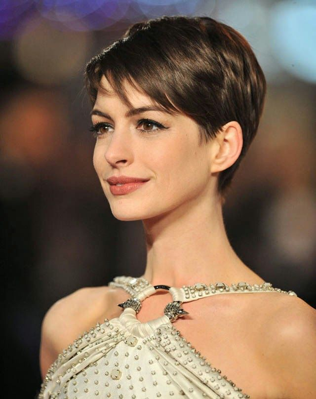 Short Cropped Hairstyle - This may appear similar to the pixie but as it's a short chopped cut, you have longer layers on top or even bangs.