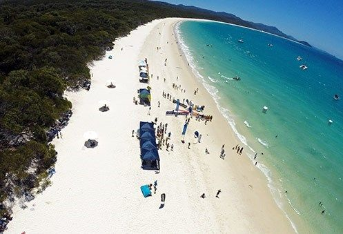 Its pretty hard to top Whitehaven beach as a backdrop for your beach race so put it on your list for must do race holidays!