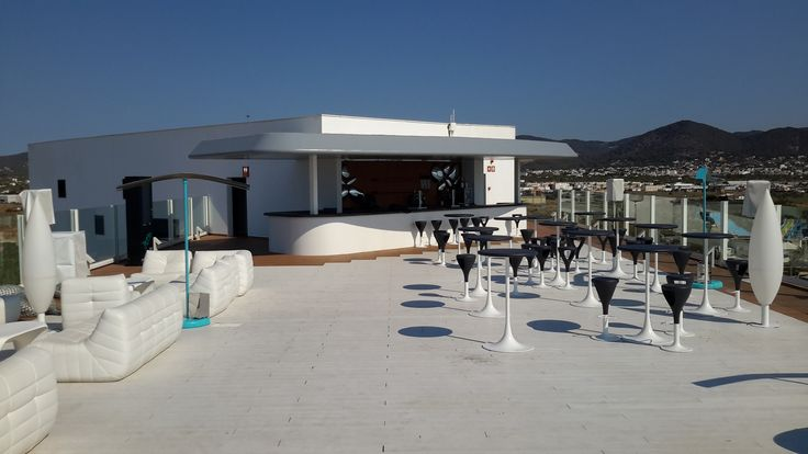 www.idecksystems.com at HARD ROCK HOTEL SkyBar - the best decking systems and materials around!