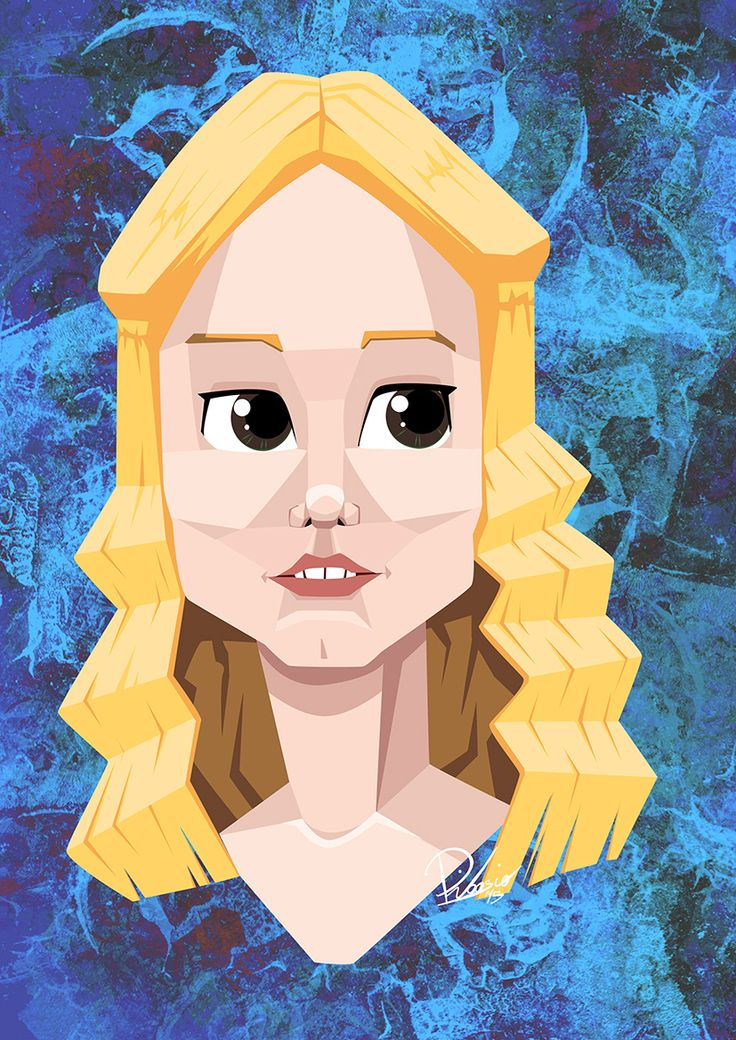Miranda Otto as Eowyn in #thelordoftherings - caricature by Ribosio gallery --> http://sketchandbreakfast.com/lotr/