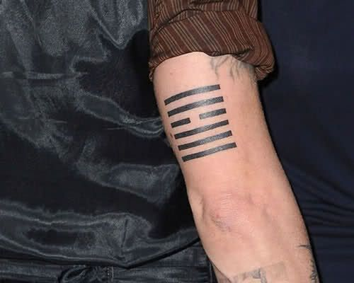 Back Arm Tattoo