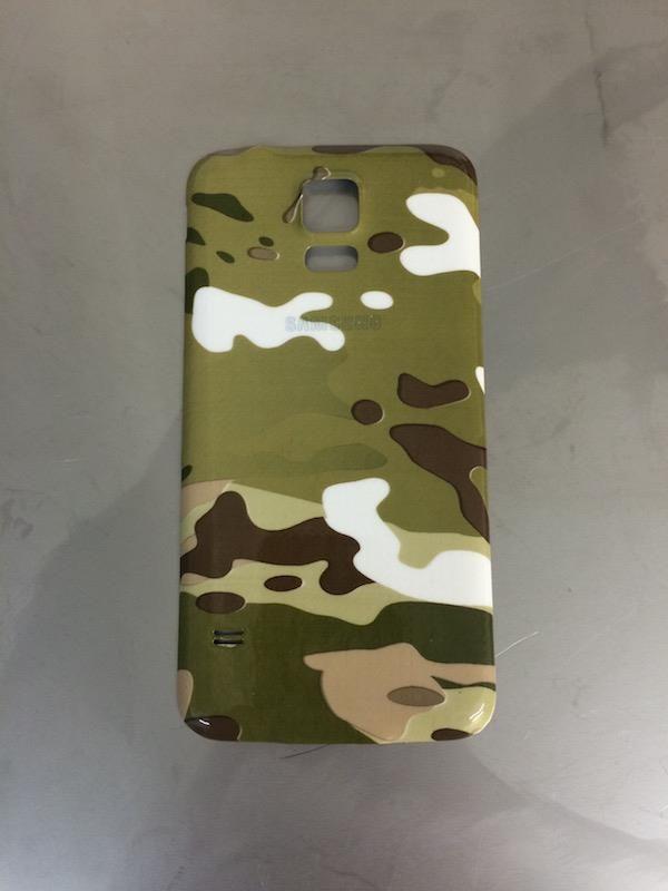 Coque téléphone motif camo  impression hydrographique
