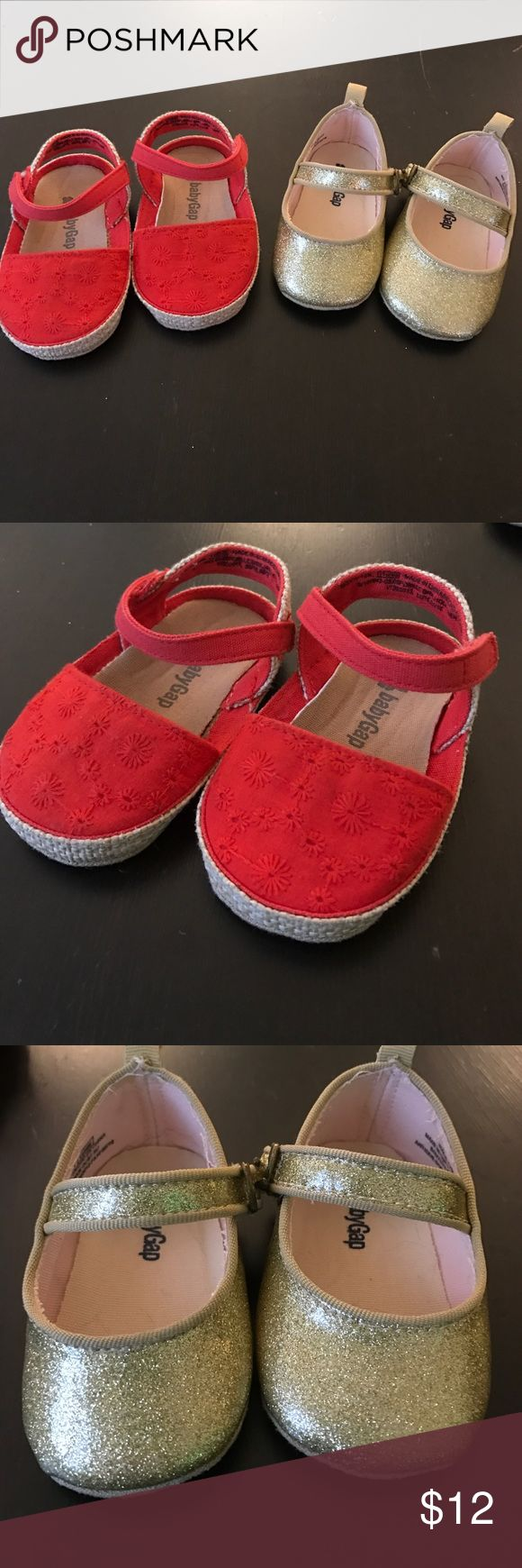 Baby Gap Shoe Bundle 2 pairs of like new shoes. GAP Shoes Baby & Walker