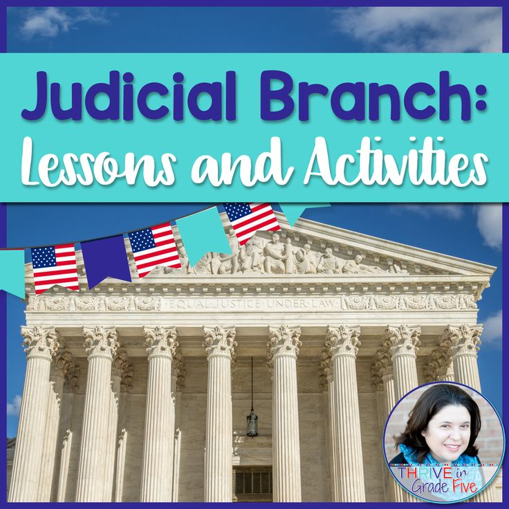 The judicial branch has never been easier or more fun to teach! This activity pack has everything you need to teach this important part of the branches of government.